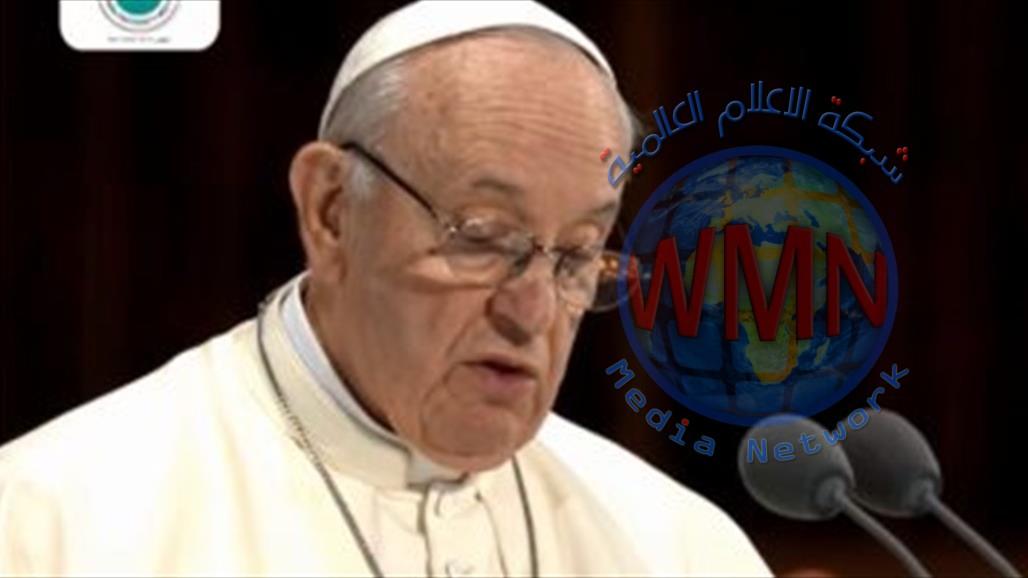 بابا الفايتكان: اُصلّي لله من أجل العراق لكي يحيا في السلام
