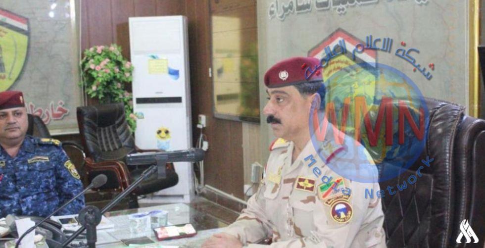 عمليات سامراء تكشف عن خطتها لتأمين زيارة الإمامين العسكريين عليهما السلام