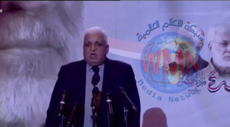 فالح الفياض:الجريمة التي ارتكبت في مطار بغداد كبرى ونكراء بحق الانسانية