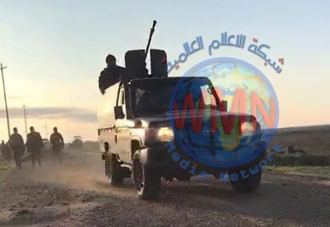 اللواء السادس للحشد يدمر مضافة لداعش تحوي مواد لوجستية في الصحراء الكبرى