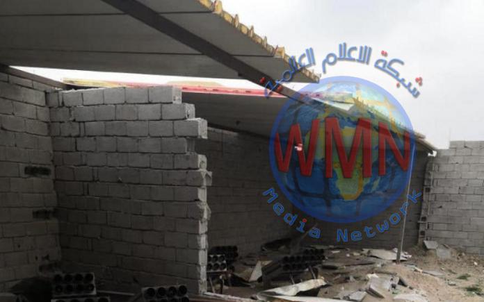 العمليات المشتركة تعلن العثور على 56 صاروخ كاتيوشا معد للاطلاق في بغداد