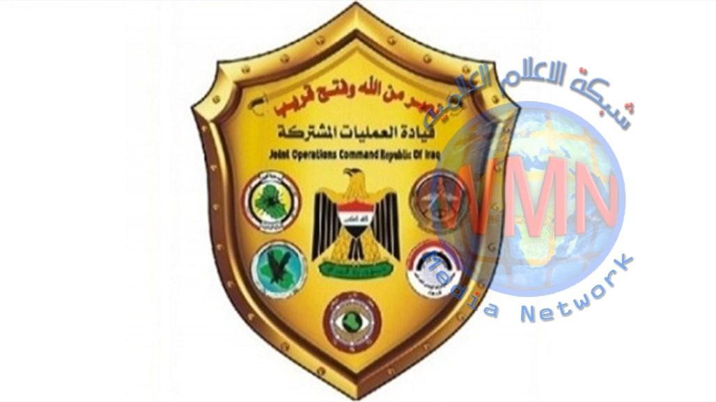 العمليات المشتركة: تخصيص طائرة عسكرية لنقل المصابين وجثامين العراقيين الذين تعرضوا لحادث في سورية