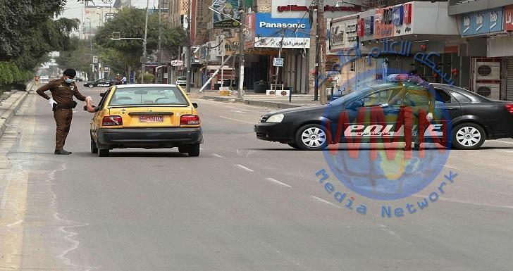 تسجيل 256 مخالفة للعجلات كسر أصحابها حظر التجوال في واسط