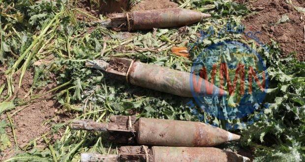 الحشد والشرطة يعثران على أربعة صواريخ كاتيوشا جنوب سامراء