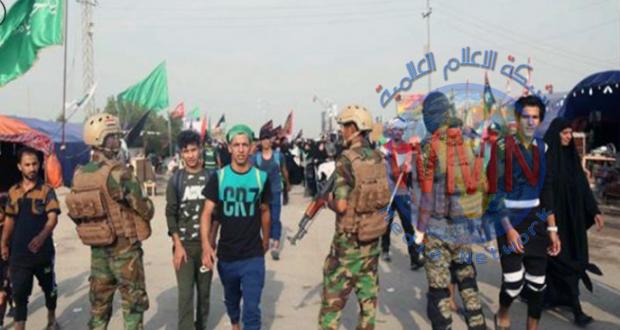 الحشد يواصل استنفار قواته مع استمرار توافد الزائرين إلى مرقد الإمامين العسكريين(ع) في سامراء