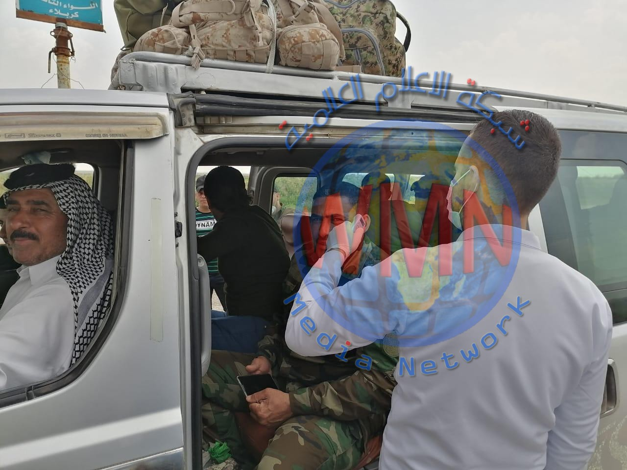 اللواء التاسع في الحشد يشارك الفرق الصحية في صلاح الدين حملات للوقاية من كورونا