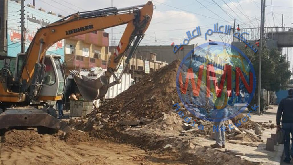 استحداث ثلاثة منافذ مرورية شمال بغداد