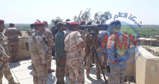 """الحشد الشعبي والقوات الأمنية يعالجان جيوبا """"داعشية"""" في صلاح الدين (صور)"""