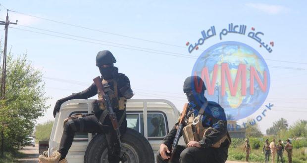 اللواء 41 والقوات الأمنية ينطلقان بعملية تفتيش وتطهير منطقتين جنوب سامراء