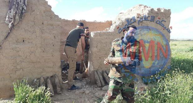 """بعملية نوعية.. اللواء 44 يضبط مضافة لـ""""داعش"""" تضم مئات الصواريخ والعبوات  (صور)"""