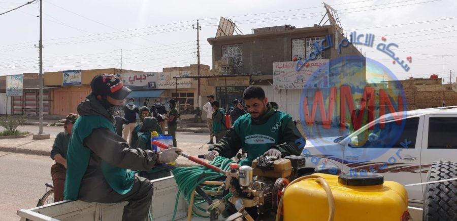 اللواء 27 بالحشد الشعبي يعفر مناطق حزام بغداد بالتعاون مع الشرطة والدفاع المدني