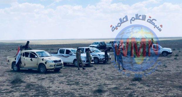 الحشد الشعبي ينفذ عملية لتفتيش الصحراء في الانبار وصولا الى القرى المحاذية لنينوى