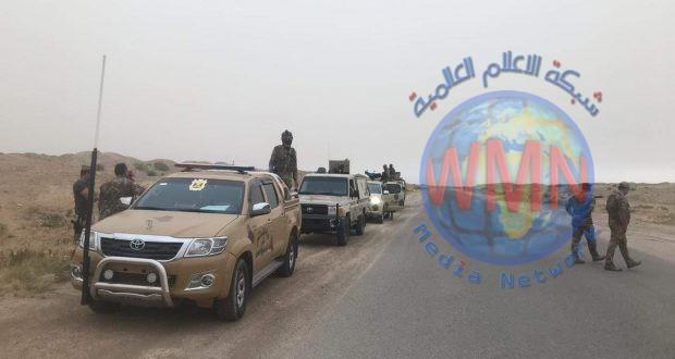 الحشد الشعبي يفتش عدة مناطقفي صحراء الأنبار