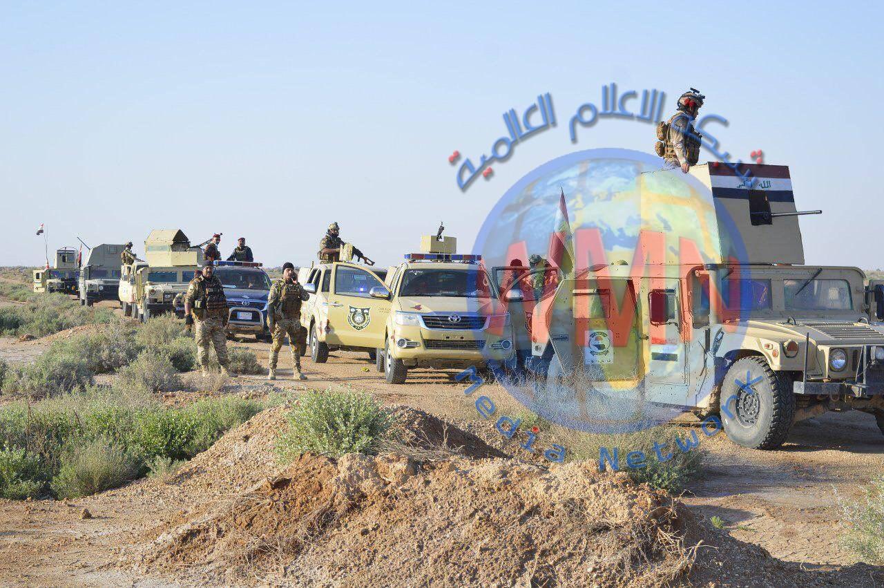 الحشد والجيش ينفذان عملية امنية لملاحقة فلول داعش في صحراء الأنبار