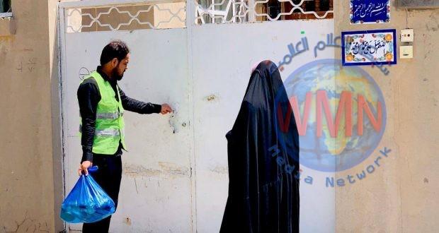 """الحشد الشعبي يطلق المرحلة الثانية من حملة """"رمضان الخير"""" لمساعدة العوائل الفقيرة في النجف"""