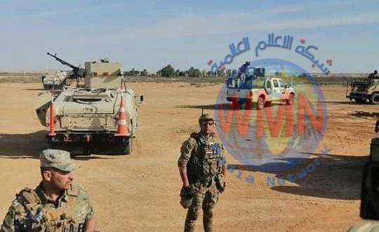 الحشد الشعبي والجيش ينفذان عملية تفتيش في صحراء الانبار