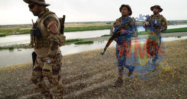 الحشد والقوات الأمنية يفتشان القرى والارياف المحاذية لدجلة في صلاح الدين