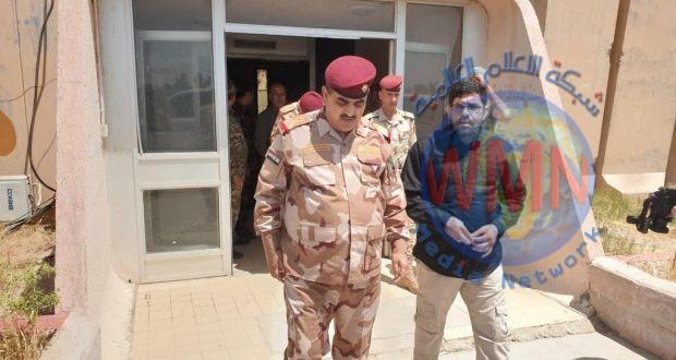 قائد عمليات صلاح الدين يبحث مع اللواء التاسع للحشد تكثيف الجهود لحماية قواطع المسؤولية في المحافظة