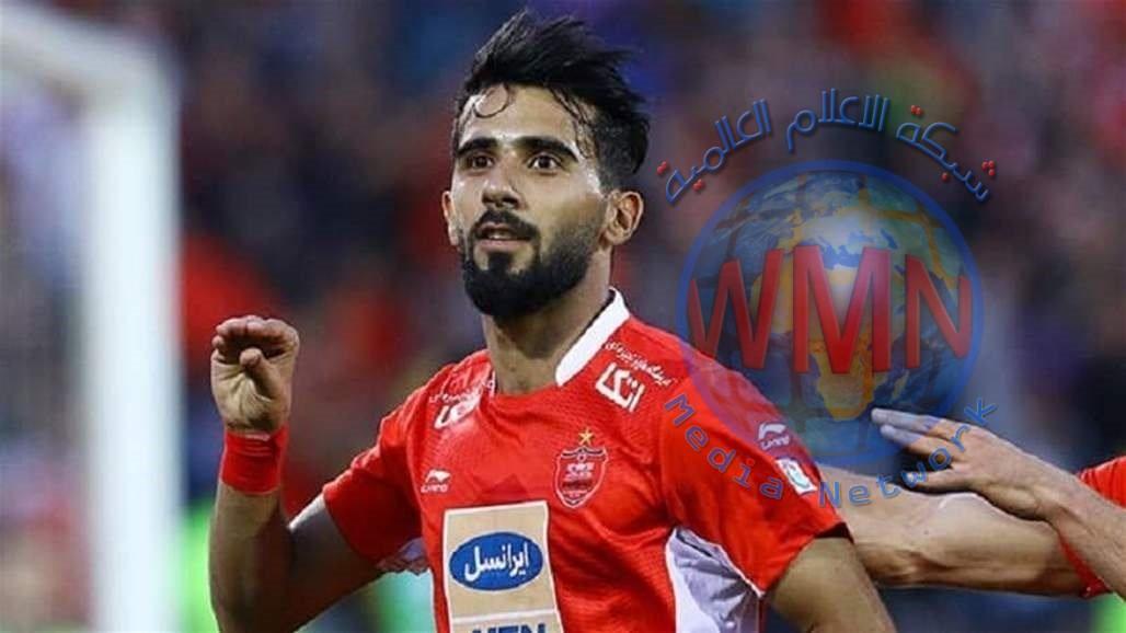 بشار رسن يتحدث عن تجربته في الدوري الإيراني