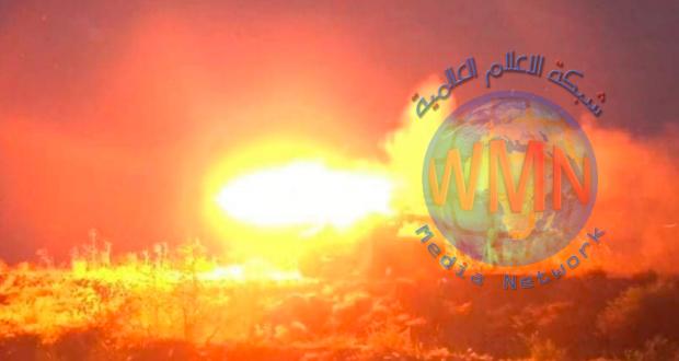 """الحشد الشعبي يدك سبع مضافات لـ""""داعش"""" بقذائف الهاون شمال سامراء"""