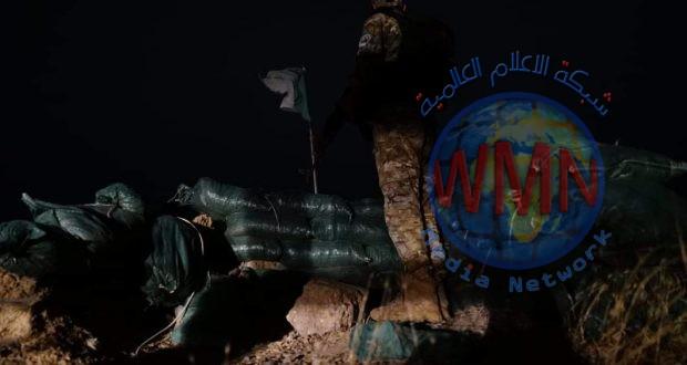 الحشد الشعبي يحبط محاولة تسلل لداعش في جرف النصر