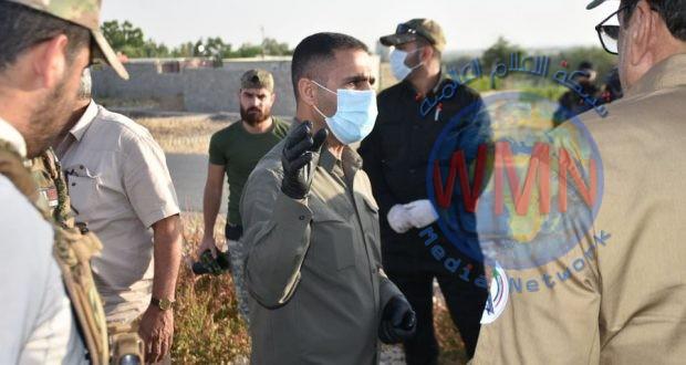 قاطع عمليات ديالى للحشد والشرطة يباشران بتنفيذ عملية أمنية في خانقين
