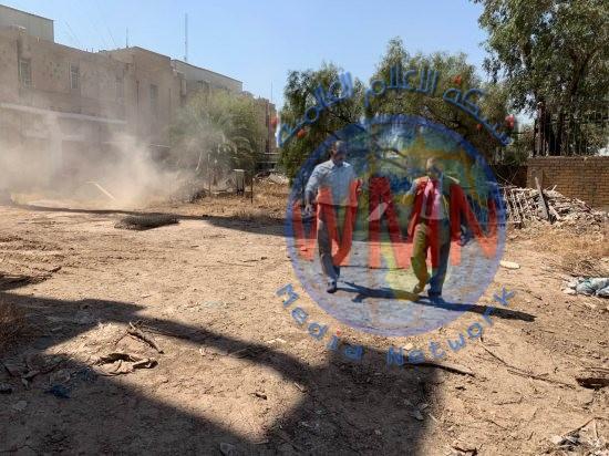 بينها قبر عمو بابا.. حملة تأهيل وصيانة واسعة في المدينة الشبابية ببغداد