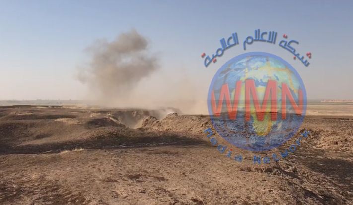 اللواء الأول بالحشد يفجر مضافة لداعش في حاوي العظيم