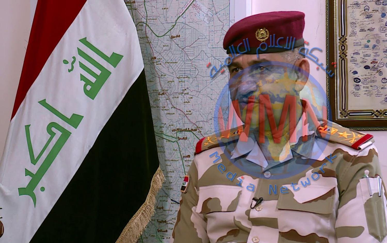 قائد عمليات بغداد الفريق الركن قيس المحمداوي يهنئ الاسرة الصحفية بمناسبة العيد الوطني للصحافة