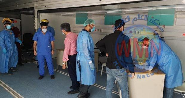 طبابة الحشد الشعبي تشيّد مستشفى ميدانيا جديدا لمصابي كورونا في المثنى