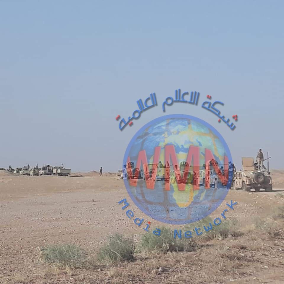 الجيش والحشد الشعبي ينفذان عملية تفتيش في صحراء الأنبار