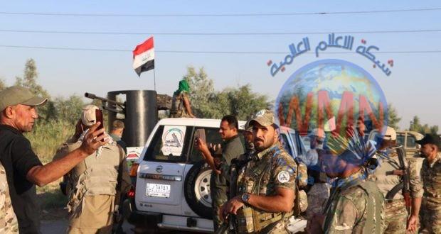 الحشد الشعبي والقوات الأمنية يباشران باليوم الرابع من عمليات أبطال العراق الرابعة في ديالى
