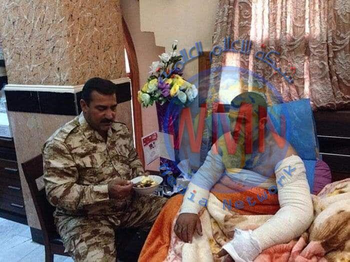 استشهاد المجاهد نعمة مصلح أحد ابطال اللواء 13 بالحشد الشعبي بعد معاناة مع إصابة