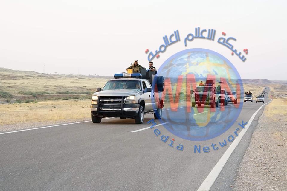 اللواء 23 بالحشد يطهر قريتين في نهر ديالى شمال غرب خانقين