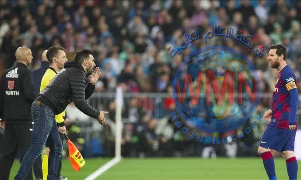 استمرار ازمة ميسي ومدرب برشلونة المساعد للمباراة الثانية على التوالي