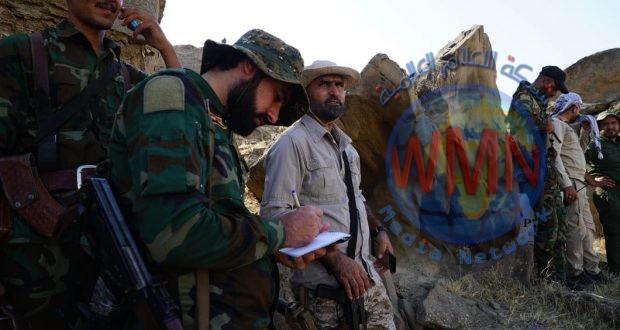 اللواء 52 للحشد يعثر على شبكة انفاق لداعش وثلاث مضافات في حمرين