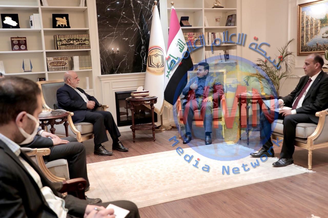 مستشار الأمن الوطني يستقبل السفير الإيراني في العراق