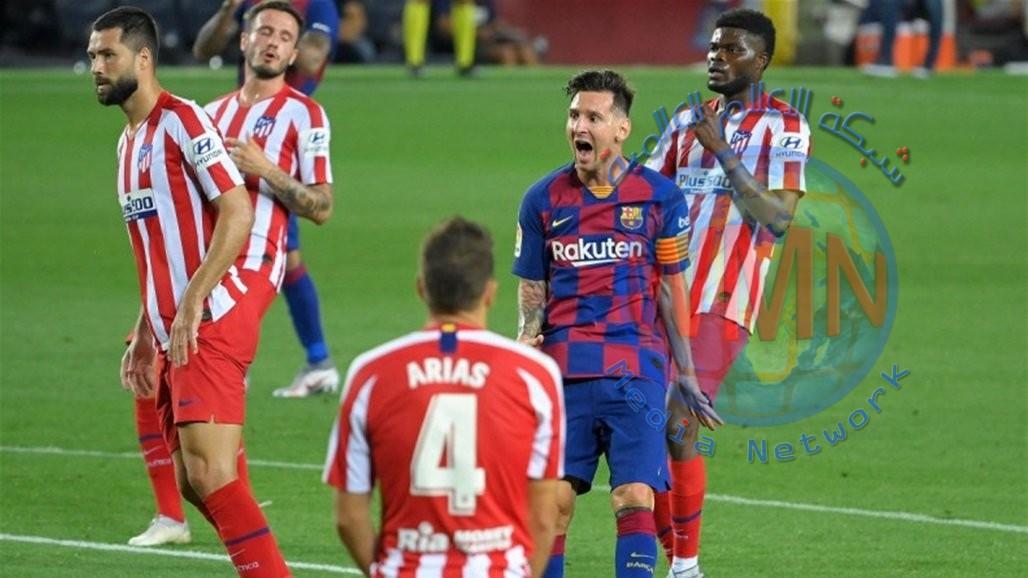 """برشلونة يتعادل مع اتلتيكو مدريد في """"موقعة الجزائيات"""""""