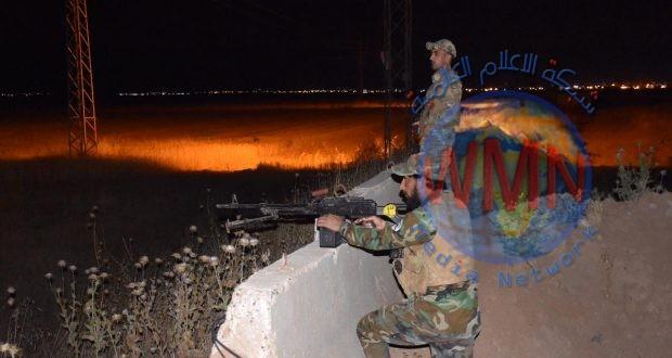 """الحشد الشعبي يتصدى لتعرض """"داعشي"""" على بلد جنوب سامراء"""