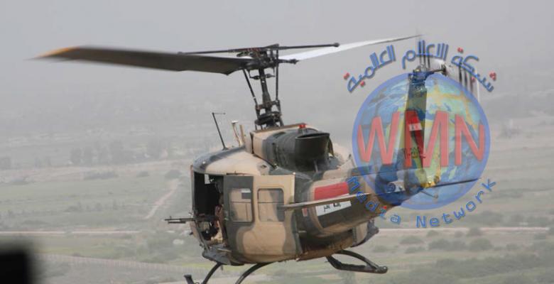 قيادات الأنبار تستطلع جوا المناطق الصحراوية وصولا الى الشريط الحدودي مع سوريا