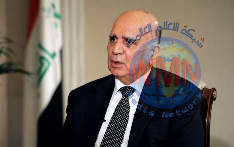 وزير الخارجية يتوجه إلى واشنطن تمهيداً لزيارة الكاظمي