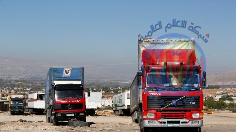 وزير النقل السوري: إعفاء الشاحنات اللبنانية من رسوم العبور