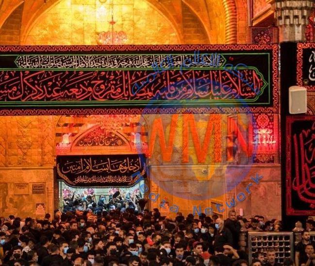 إحياء ذكرى عاشوراء في مرقد الإمام الحسين {ع} وسط إجراءات وقائية مشددة