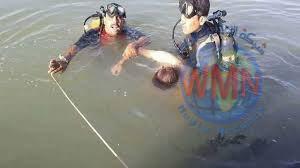 انتشال جثة شخص من نهر دجلة في الكريعات