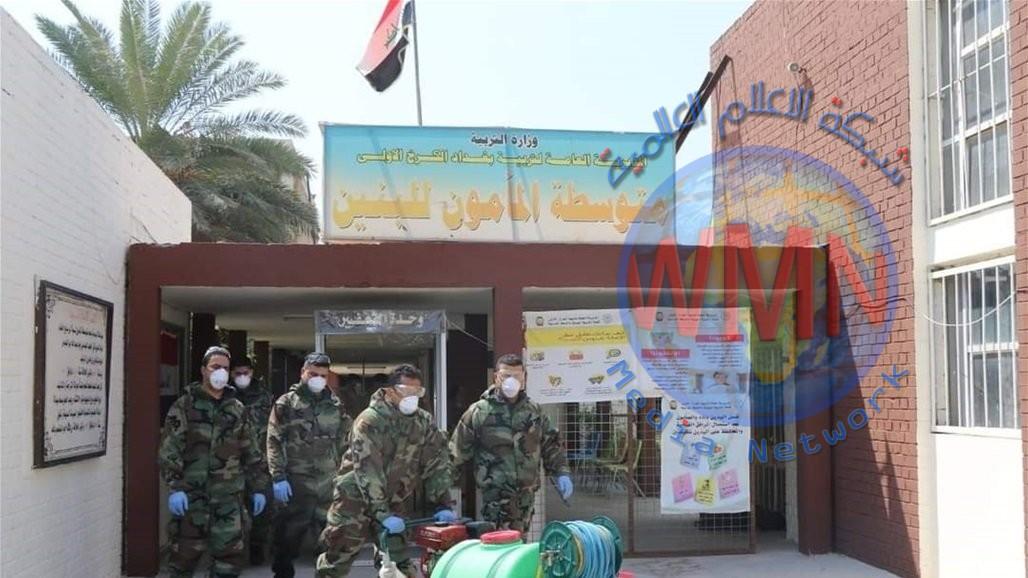 الدفاع المدني تعلن احصائيات عمليات التعقيم والتطهير في عموم العراق