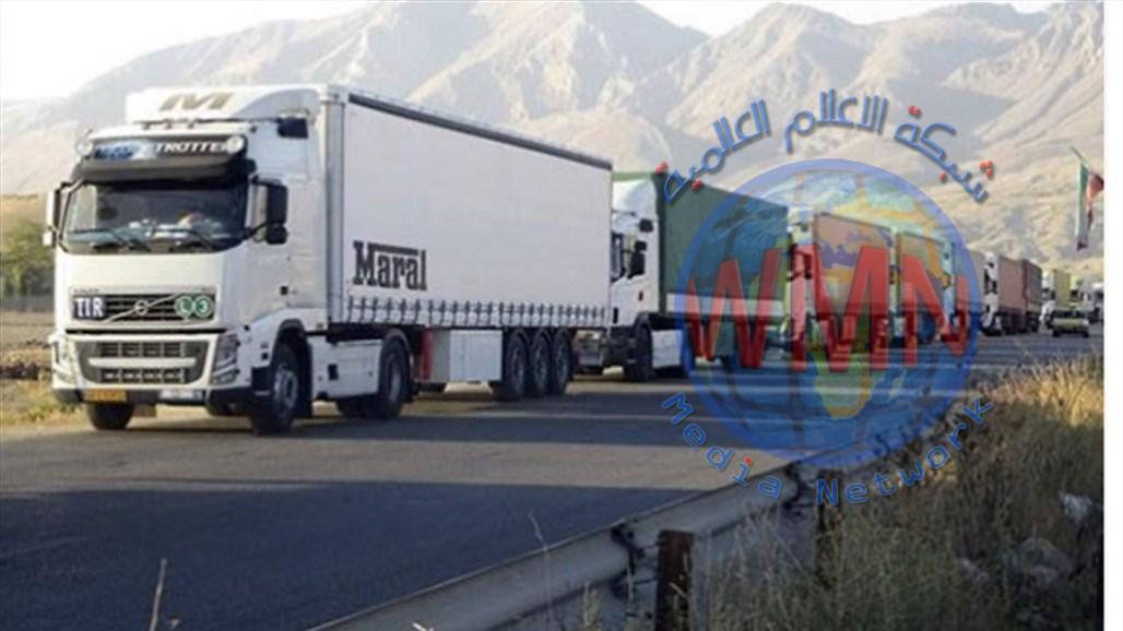 طهران: استمرار تصدير 29 منتجاً زراعياً إلى العراق