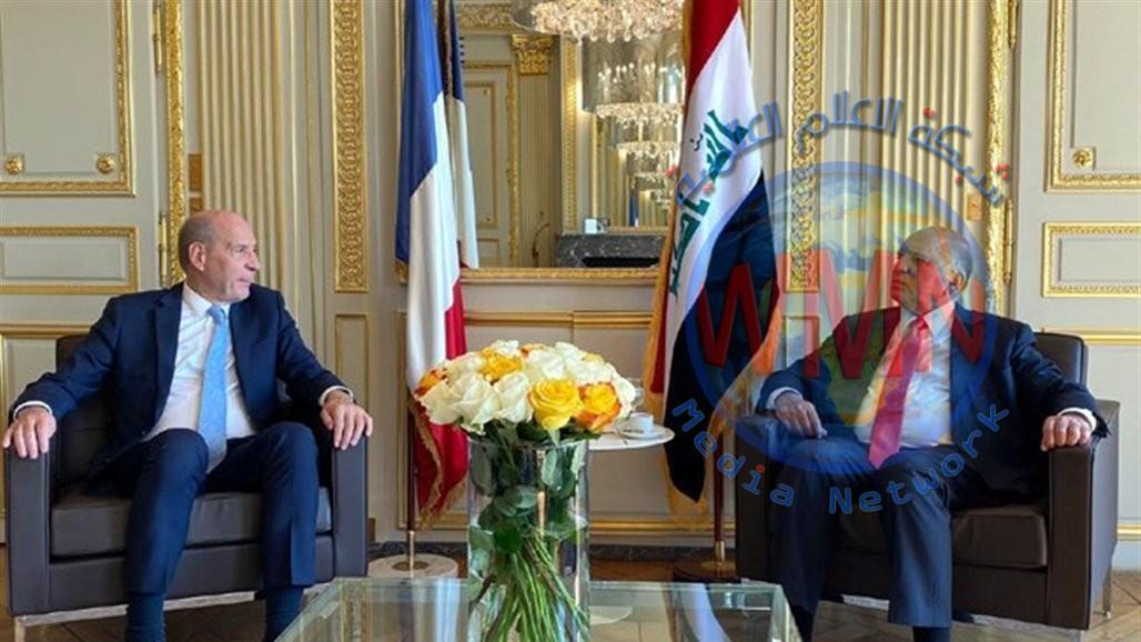 """العراق يعد علاقته بفرنسا """"بوابة"""" للاتحاد الأوروبي"""