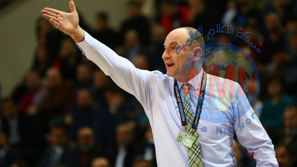 البوسني عزيز بكير مدرباً للمنتخب الوطني بكرة السلة