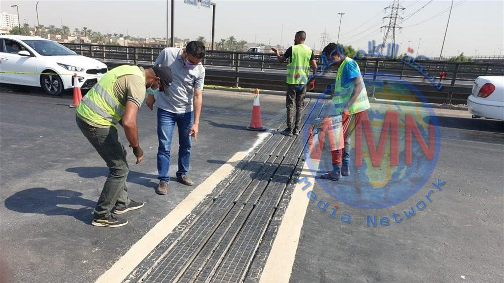 امانة بغداد تباشر بصيانة ٣ مجسرات مهمة في العاصمة