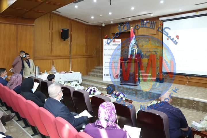 """بالتعاون مع الوكالة الكورية للتعاون الدولي (كويكا)  التخطيط تعقد ورشة عمل عن الدورة التدريبية (""""بناء القدرات في مجال الثروة الحيوانية والزراعية والوقاية منها"""")"""